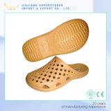 Тапочки прогулки пляжа ботинок Clog ЕВА лета вскользь