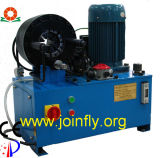Machine sertissante de boyau de certificat de la CE