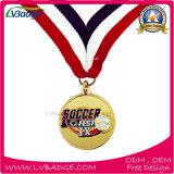 カスタム賞のスポーツの最上質の連続した記念品メダル