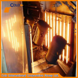 Industrial por gas infrarrojos Powder Coating Horno
