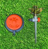 Het Water geven van de tuin de Sproeier van de Impuls van de Aar van het Metaal van de Cirkel van het Hoogtepunt/van het Deel van Hulpmiddelen