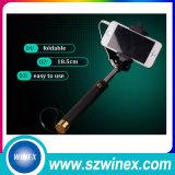 Monopod universal Metal&#160 plegable retractable; Selfie Stick with Atado con alambre