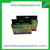 Rectángulo de empaquetado de la cartulina del papel del embalaje del regalo del carbón del juguete activo accesorio de encargo del rectángulo