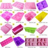 Personalizzare le muffe del cubo di ghiaccio della muffa del cioccolato della muffa della torta del silicone
