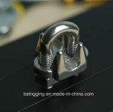 ステンレス鋼JISワイヤーロープクリップハードウェアの索具
