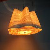 Hölzerne Deckenleuchte-hängende Lampe für Hotel-Gaststätte