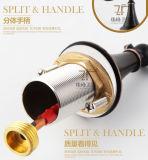 Faucet magnífico intemporal luxuoso antigo do misturador da bacia do Três-Furo Zf-337 do estilo de vida