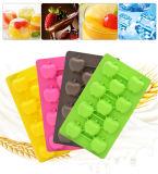 11 Zellen-Apple-Form-Silikon-Form für Eis-Würfel