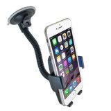 4903 360度iPhone Samsungのための調節可能なユニバーサル車の電話ホールダー