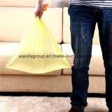 Eco-Friendly Convenient Plastic Garbage Drawstring Bag