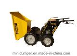 4WD堆肥のトラック力の手押し車の庭のローダーの小型運送者の小型ダンプ