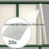 좋은 품질 Ral9010 450g 19cm*35m PVC 지구 스크린 정원 담