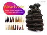 Hochwertige Jungfrau-peruanische Haar-Webart-loses Wellen-Doppelt-Einschlagfaden-Haar