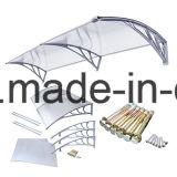 屋外DIYは取り除くポリカーボネートのプラスチックおおい(YY800-C)を