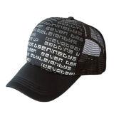 革ラベルのトラック運転手の帽子(JRT078)