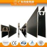 Profil d'extrusion de guichet en aluminium avec le transfert en bois des graines
