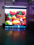 Painel Iluminado de Sinais de LED Indoor em Cor Natural em P3.9