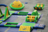 Hot Sell Aqua Equipment Inflável Floating Island Parque aquático inflável