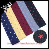 最新のファッション乾燥きれいな100%だけ絹のニットのタイ