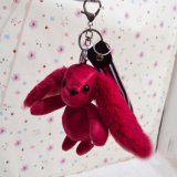Kundenspezifisches Kaninchen-Plüsch Keychain Plüsch-Spielzeug