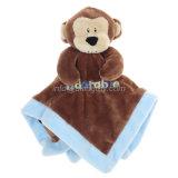 Jouets faits sur commande mous de peluche de bavoirs de bave de bébé pour des gosses