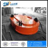 강철 작은 조각 MW61-400240L/1-75 취급을%s 타원형 모양 드는 자석을 적응시키는 기중기