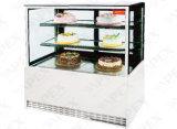 광고 방송 세륨, 콜럼븀을%s 가진 냉장고 2개의 층 정각 케이크 진열장