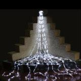 Van het LEIDENE van de Verlichting van het Gordijn van de openlucht/Decoratie van het Huwelijk de Lichten van de Waterval Gordijn 360LED van Kerstmis 2.5*2