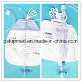 Urin-Auffangbehälter für Erwachsenen mit T-Klopfen Ventil des Ventil-T