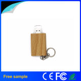 自然な木の本の形USBのフラッシュ駆動機構(Jv1390)