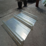 Hojas translúcidas del material para techos de FRP/hoja plástica acanalada transparente del material para techos/cubierta de azotea plástica clara