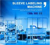 Máquina de etiquetas plástica da luva do Shrink do frasco