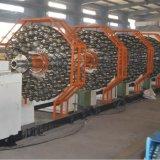 Tubo flessibile di gomma flessibile dell'olio del doppio tubo flessibile idraulico Braided