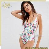 Новый Swimsuit простирания флористической печати женщин прибытия сексуальный с регулируемыми планками
