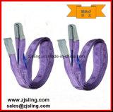 3 imbracatura di sollevamento duplex della tessitura del tester X 2000kg
