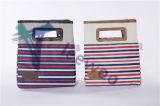 Functionele Koelere Zak voor Picknick/Lunch met de Versiering van het Leer