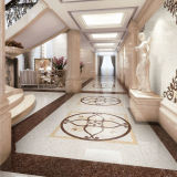 600X600 Glazed Porcelain Polished Ceramic Floor Tile con lo SGS