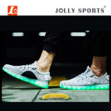Zapatos ligeros de la danza de los deportes del ocio de la manera LED para los hombres de las mujeres