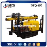 Tipo equipamento Drilling pequeno da esteira rolante de DTH para a profundidade de 150m