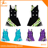 Netball cheio Jersey do Sublimation da venda quente de Healong