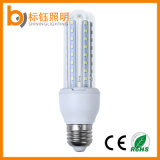 Uの形85-265V E27 SMD2835 9W LEDの省エネのトウモロコシライトランプ