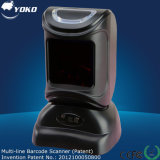 Omni Directional Barcode Scanner met 0 tot 230mm Depth Field, Ce, FC en ISO Certifications