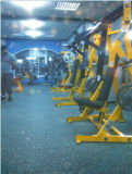 Indoor Recycled Rubber Tile for Fitness Centren No-Tox Gymnasium Flooring