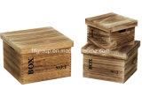 El SGS revisó el rectángulo de madera del vino de diversas tallas del surtidor
