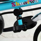 Kind-Pedal-Auto und Kind-Dreirad mit Stoss-Stab