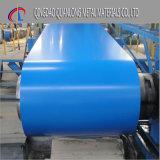 Dx51d Colorbond a enduit la bobine d'une première couche de peinture en acier enduite par couleur