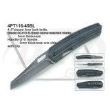 """4.5 """" fecharam a faca do punho do G10 do fechamento do forro com a pedra lavada: 4PT116-45bl"""