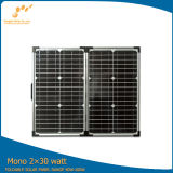 高性能(SGM-F-60W)の60watt携帯用太陽電池パネル