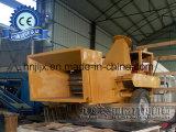 Maquinaria do processamento material de Branck do galho da casca para a produção de papel