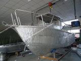 De mooie Vissersboot van de Boot van de Legering van het Aluminium in Grote Overzees